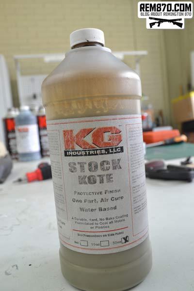 KG Stock Kote
