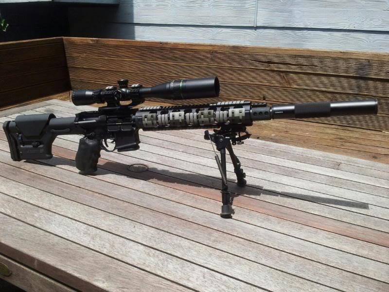 AR-15 with Optics