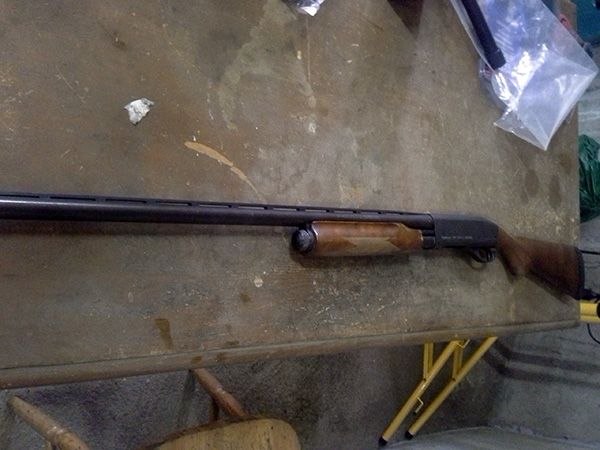 Remington 870 Before