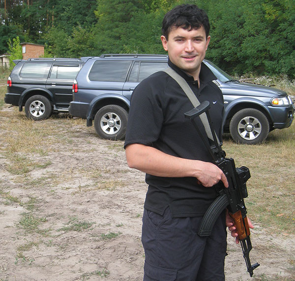 Brother with AK-47 with Eotech