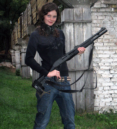 My Brother's Wife with my Remington 870