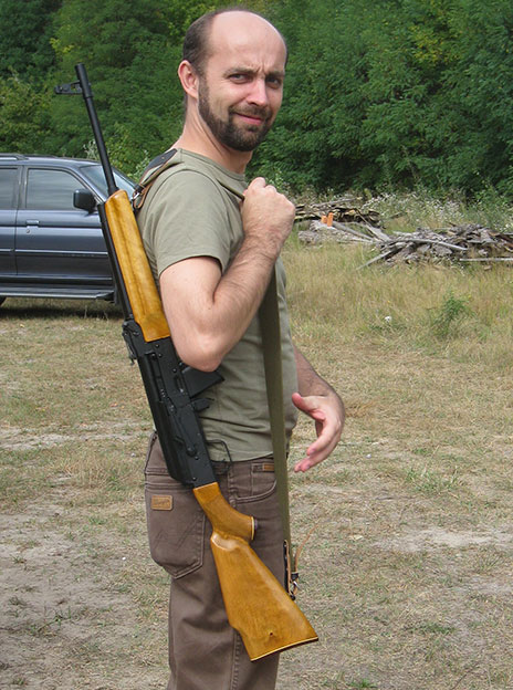 Guy with Russian Rifle