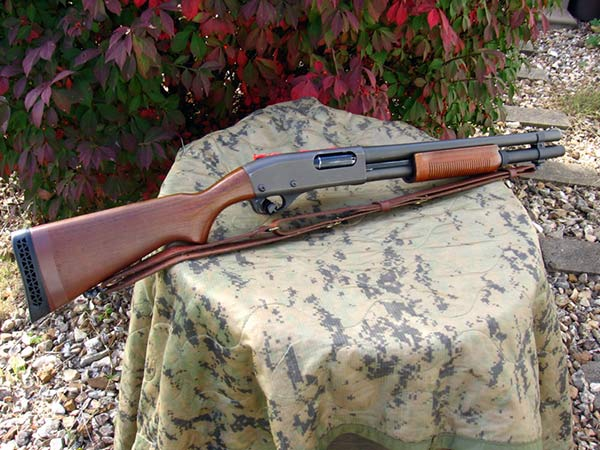 Remington 870 with Magazine Extension