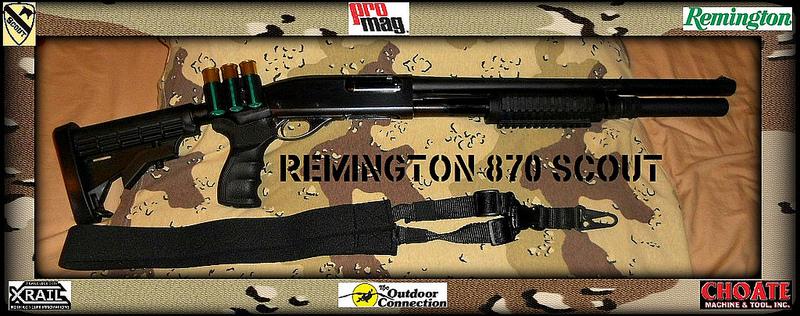 Remington 870 Scout