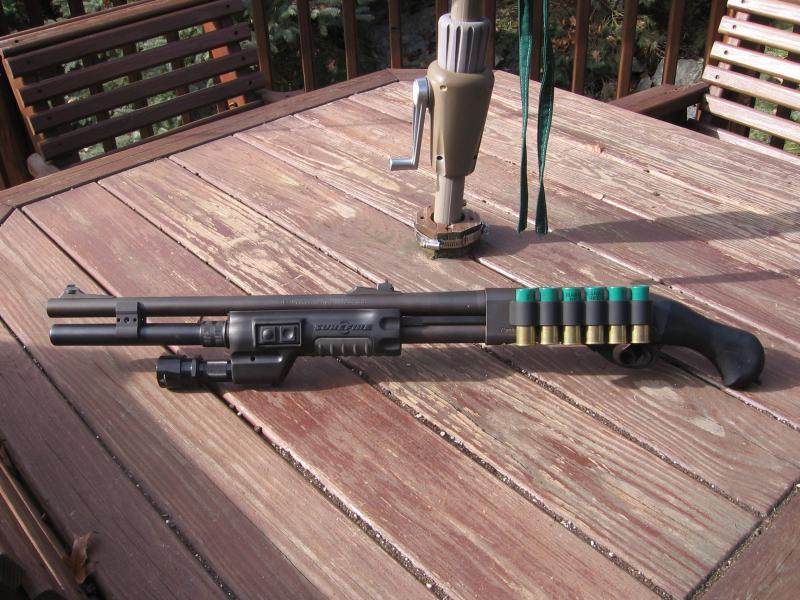 Home Defense Remington 870