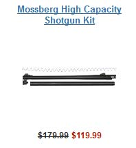 Mossberg High Capacity Shotgun Kit