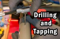 Remington 870 Drilling and Tapping