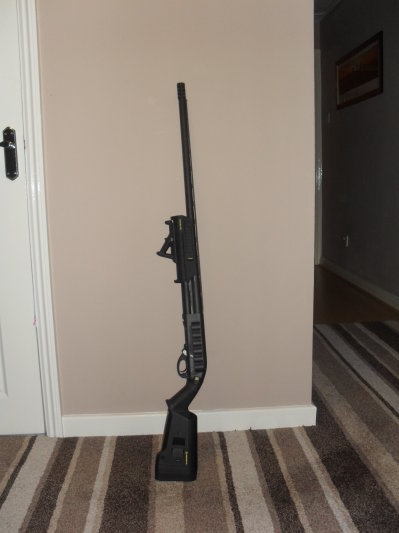 Remington 870 with Magpul Furniture