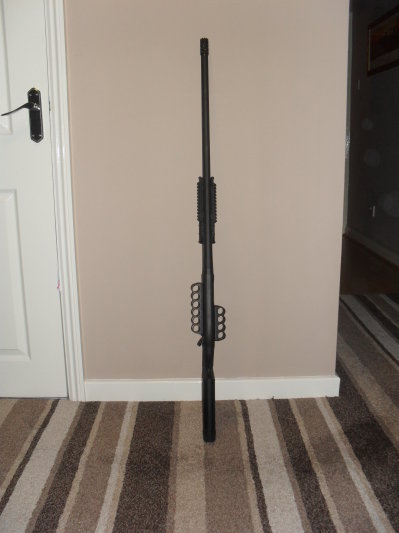 Remington 870 with Two Mesa Tactical Sidesaddles