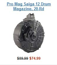 Saiga Drum Magazine