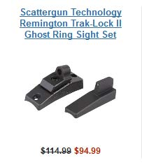 Scattergun Trak Lock Sights