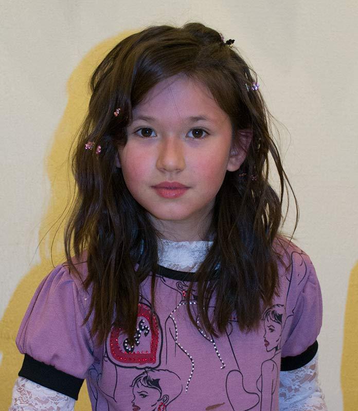 Anastasiia on Her 10th Birthday