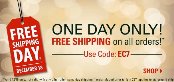Brownells FREE Shipping Day