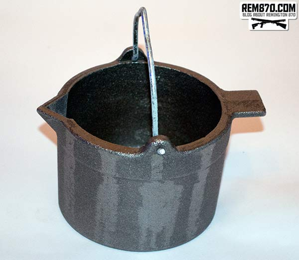 Lyman Cast Iron Lead Pot
