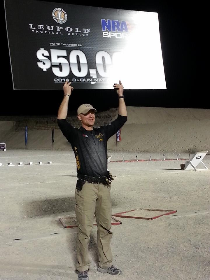 Greg Jordan, 3-Gun Nation Champion