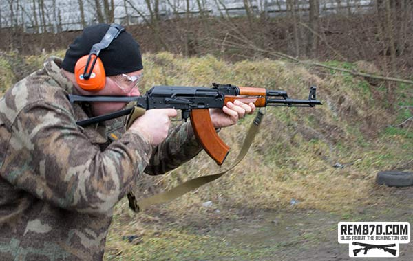 Rifle Training AK-47