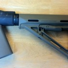 Mesa Tactical Adapter with Magpul Stock and Pistol Grip