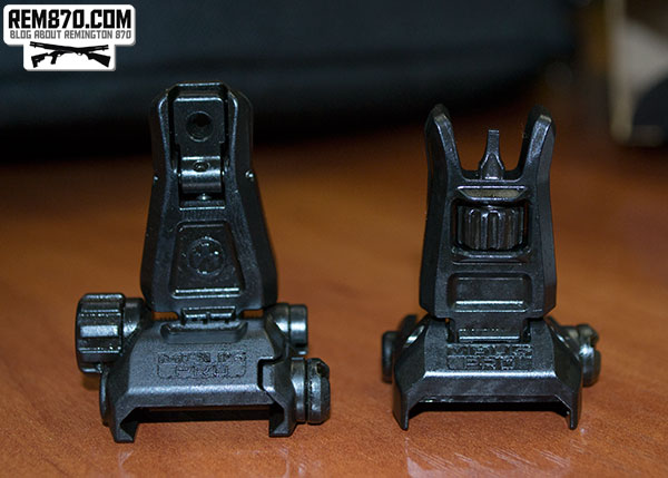 Magpul MBUS Pro AR-15 Backup Sights