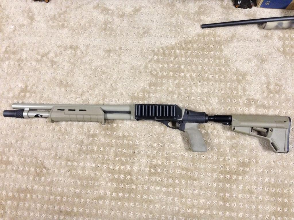 Remington 870 with Upgrades for Sale