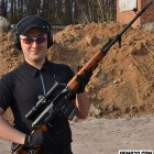 Vitaly with Dragunov Sniper Rifle