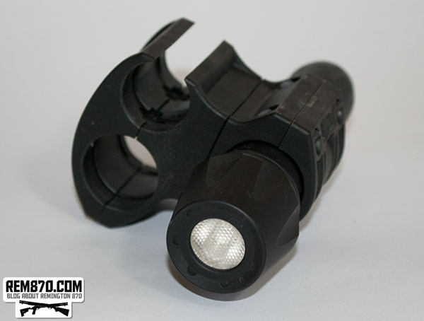 Elzetta Tactical Flashlight and Mount