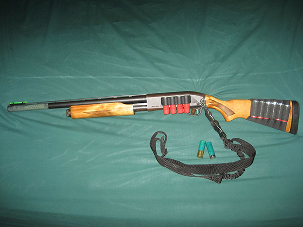 Remington 870 with Ported Barrel