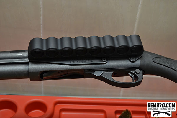 Remington 870 Express with Mesa Tactical 8 Round Sidesaddle