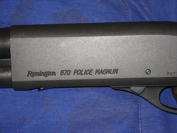 Remington 870 Police Magnum, Ported Barrel
