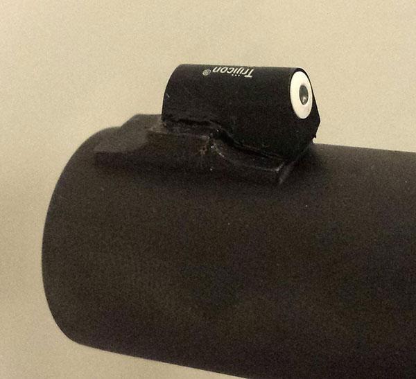 Remington 870 with XS Remington 870 Pedestal Big Dot Tritium Sight