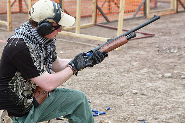 Shotgun for Home Defense Training