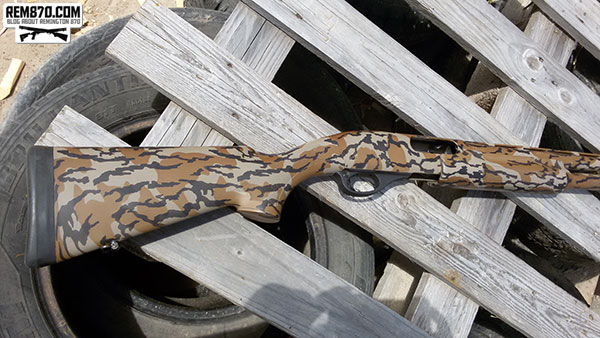 Remington 870 in Camouflage