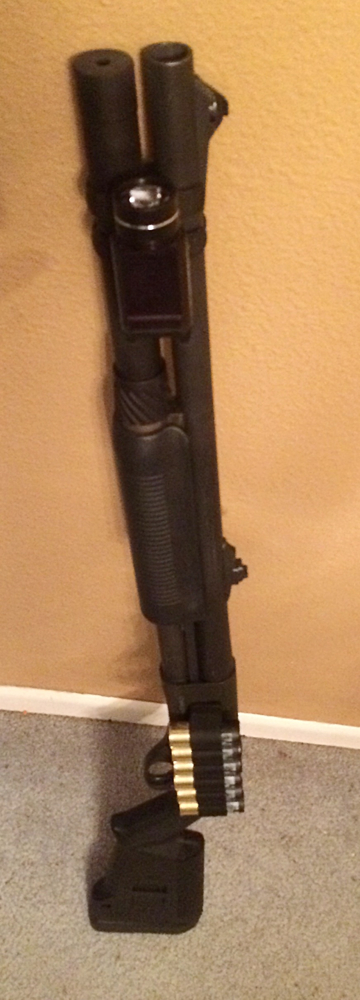 Remington 870 with Streamlight TLR-1 HL Flashlight