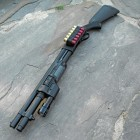 Cerakote Remington 870 Police Magnum with Surefire 618FA Forend