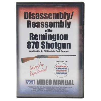 AGI Remington 870 Disassembly/Reassembly Course