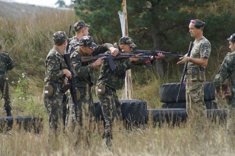 Training Ukrainian Army