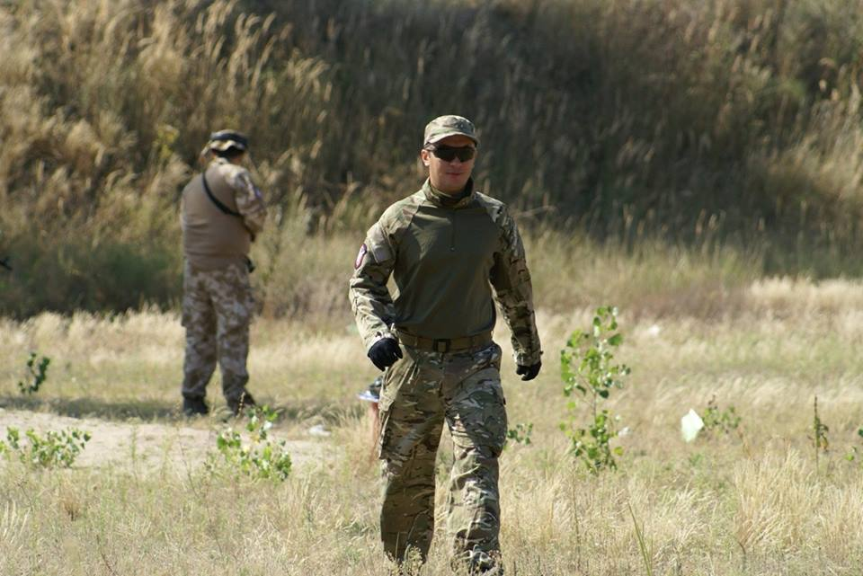 Training Ukrainian Army