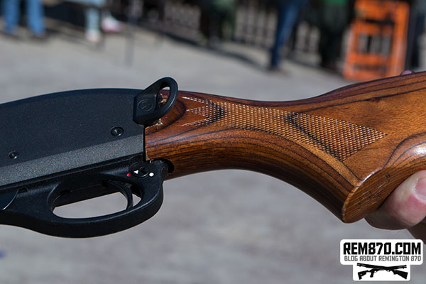 Magpul Remington 870 SGA Sling Mount on... Wood Stock