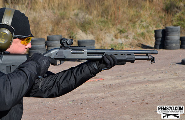 Remington 870 with Magpul Furniture and Aimpoint Sight