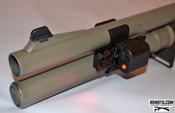 LaserLyte Center Mass Laser on Remington 870 Shotgun