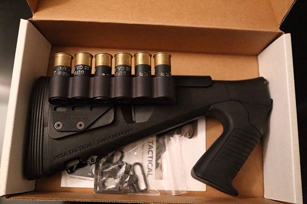Mesa Tactical Adjustable Urbino Stock/ 6 Round Side Saddle