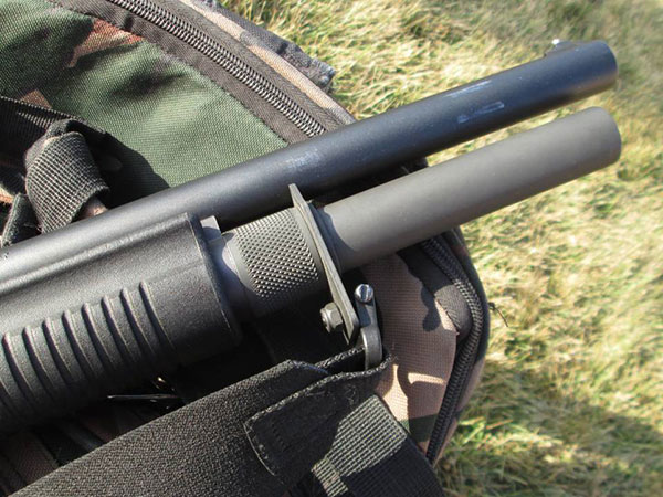 Remington 870 with Wilson Combat Magazine Extension
