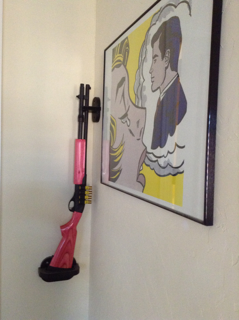 Pink Remington 870 Shotgun