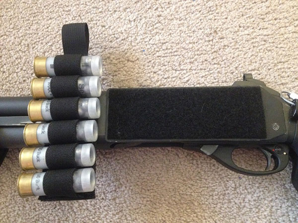 Remington 870 with Velcro Sidesaddle