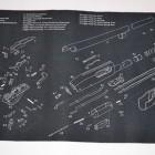 TekMat Gun Cleaning Mat with Remington 870 Imprint
