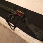 Remington 870 with Magpul Stock, Forend and TacStar Sidesaddle