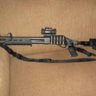 Remington 870 Tactical with Mesa Tactical Butt Stock