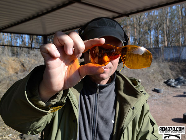Remington T-72 Shooting Glasses Test