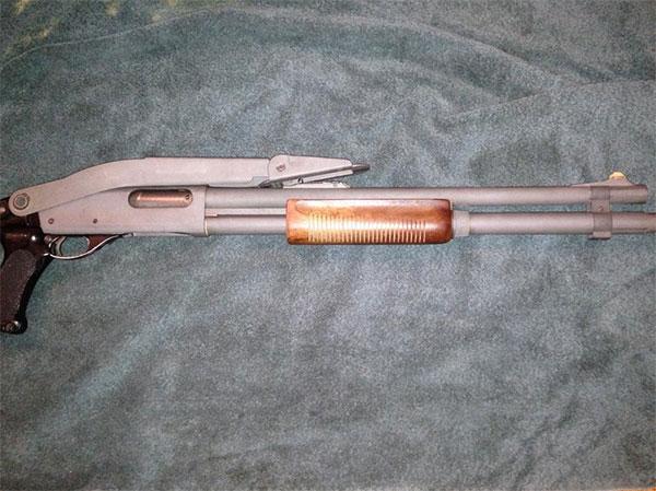 State Highway Patrol Remington 870 Shotgun