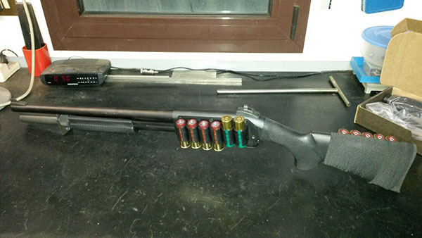 Remington 870 Hogue Stock and Forend