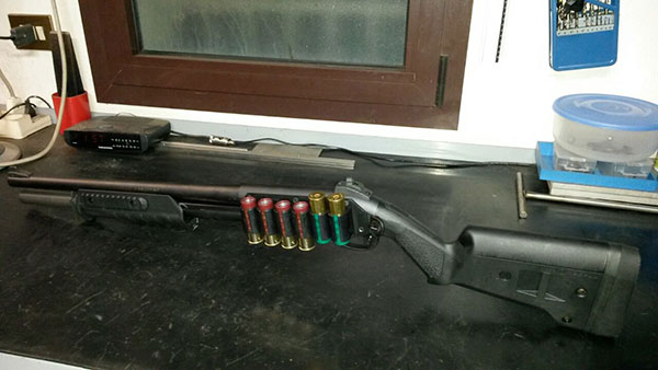 Remington 870 Magpul Stock and Forend